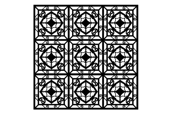 Decorative Grille Pattern Designs & Drawings Craft Cut File By Creative Fabrica Crafts - Image 1
