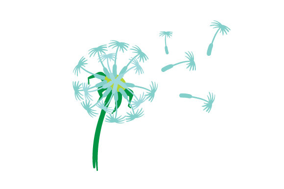 Dandelion Nature & Outdoors Craft Cut File By Creative Fabrica Crafts - Image 1