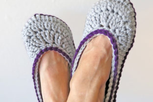 2 Hour Slipper Crochet Pattern Graphic Crochet Patterns By Knit and Crochet Ever After