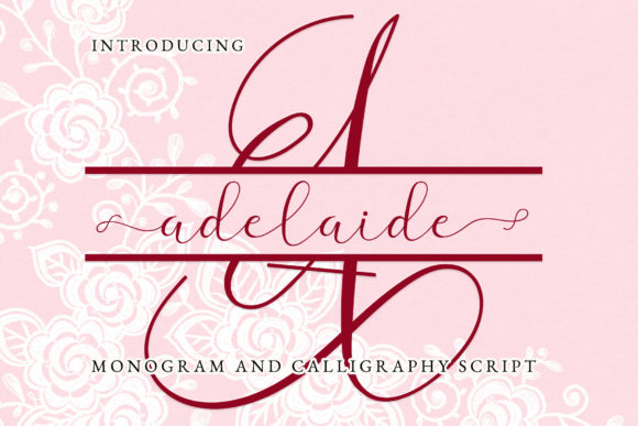 Print on Demand: Adelaide Script & Handwritten Font By airotype