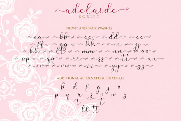 Print on Demand: Adelaide Script & Handwritten Font By airotype - Image 10