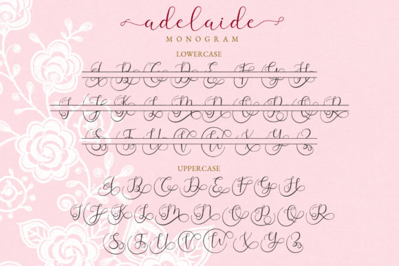 Print on Demand: Adelaide Script & Handwritten Font By airotype - Image 11