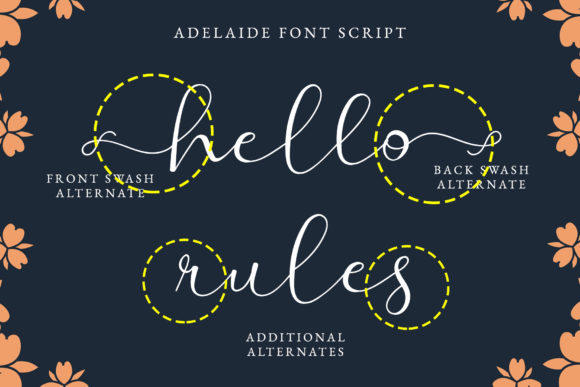 Print on Demand: Adelaide Script & Handwritten Font By airotype - Image 2