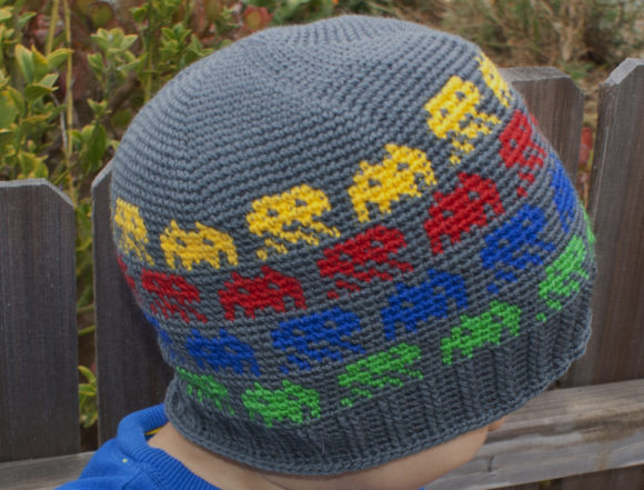 Alien Invasion Crochet Beanie Pattern Graphic Crochet Patterns By Knit and Crochet Ever After