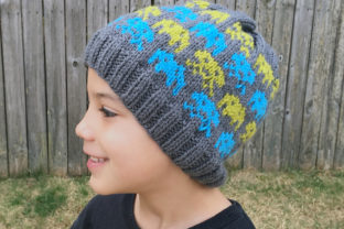 Alien Invasion Knit Beanie Pattern Graphic Knitting Patterns By Knit and Crochet Ever After 1