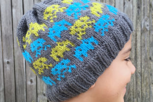 Alien Invasion Knit Beanie Pattern Graphic Knitting Patterns By Knit and Crochet Ever After 2