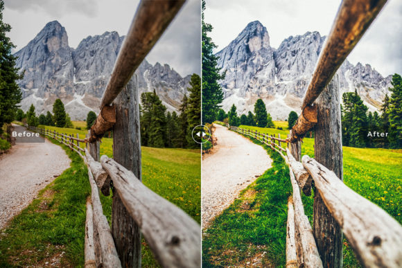 Print on Demand: Alps Lightroom Presets Pack Graphic Actions & Presets By Creative Tacos - Image 2