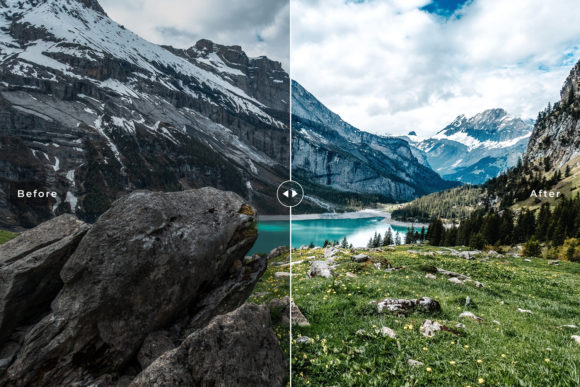 Print on Demand: Alps Lightroom Presets Pack Graphic Actions & Presets By Creative Tacos - Image 3
