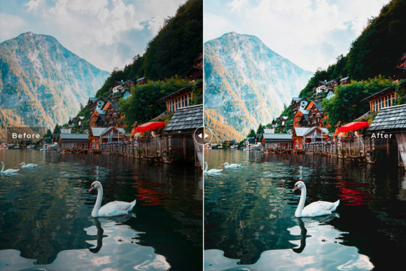 Print on Demand: Alps Lightroom Presets Pack Graphic Actions & Presets By Creative Tacos - Image 6