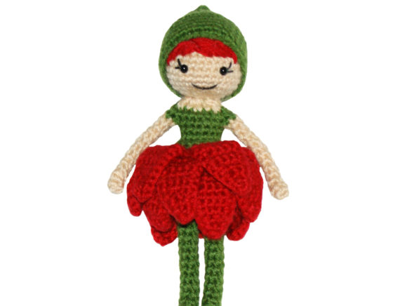 Blossom Pixie Doll Crochet Pattern Graphic Crochet Patterns By Knit and Crochet Ever After - Image 1