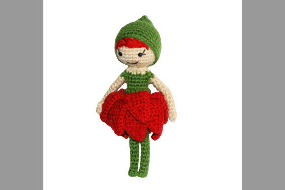 Blossom Pixie Doll Crochet Pattern Graphic Crochet Patterns By Knit and Crochet Ever After - Image 2
