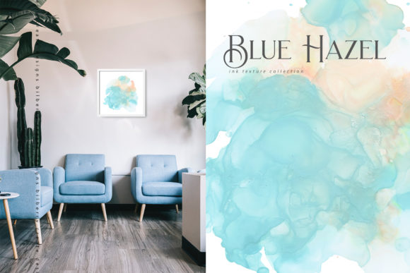Blue Hazel Graphic Textures By BilberryCreate - Image 10