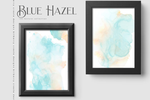 Blue Hazel Graphic Textures By BilberryCreate - Image 11