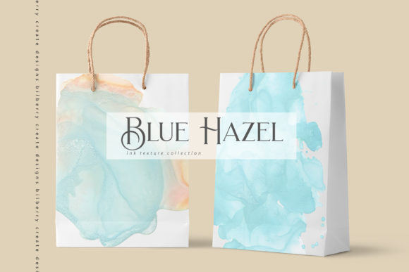 Blue Hazel Graphic Textures By BilberryCreate - Image 12
