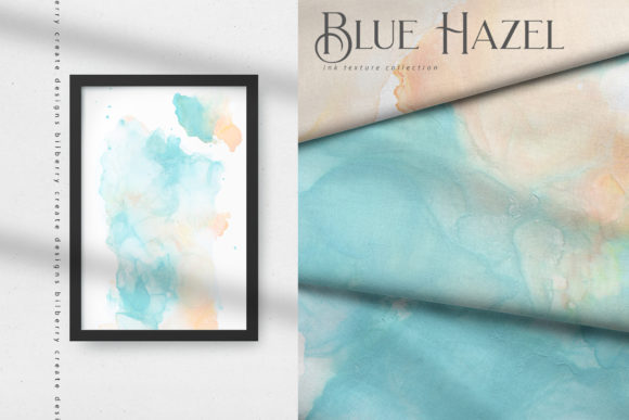 Blue Hazel Graphic Textures By BilberryCreate - Image 13