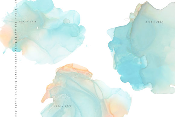 Blue Hazel Graphic Textures By BilberryCreate - Image 9