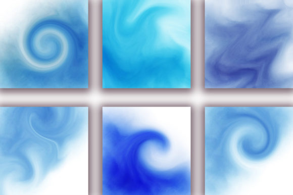 Blue Ocean Background Graphic Backgrounds By PinkPearly - Image 2