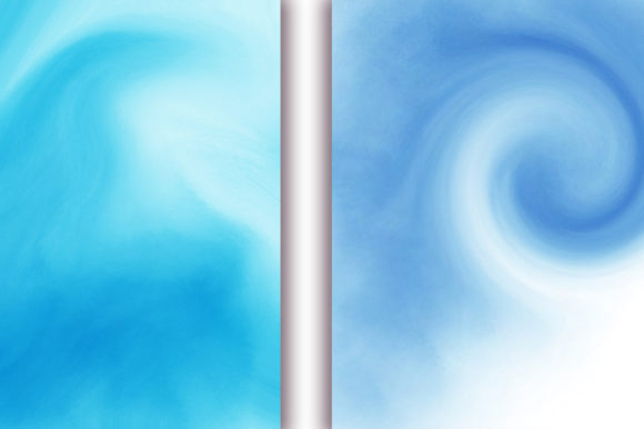 Blue Ocean Background Graphic Backgrounds By PinkPearly - Image 5