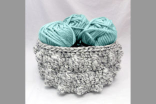 Bobble Basket Crochet Pattern Graphic Crochet Patterns By Knit and Crochet Ever After
