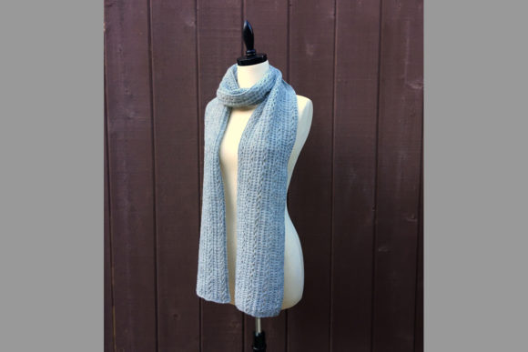 Brookside Scarf Knitting Pattern Graphic Download