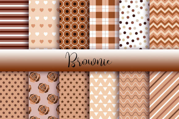 Brownie Background Graphic Backgrounds By PinkPearly