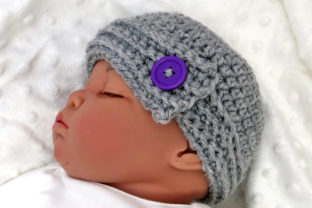 Buttoned Up Baby Gift Set Graphic Crochet Patterns By Knit and Crochet Ever After 4