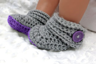 Buttoned Up Baby Gift Set Graphic Crochet Patterns By Knit and Crochet Ever After 5