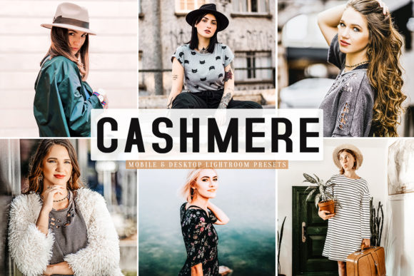 Print on Demand: Cashmere Lightroom Presets Pack Graphic Actions & Presets By Creative Tacos