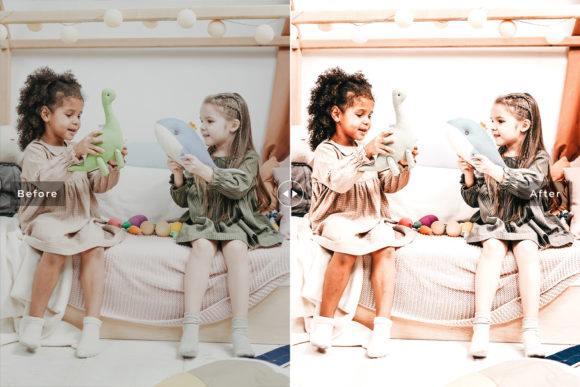 Print on Demand: Children Lightroom Presets Pack Graphic Actions & Presets By Creative Tacos - Image 3