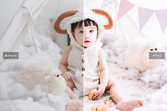 Print on Demand: Children Lightroom Presets Pack Graphic Actions & Presets By Creative Tacos - Image 5