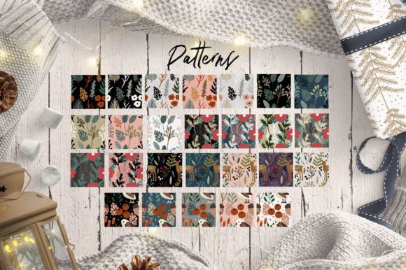 Christmas Pattern Graphic Preview