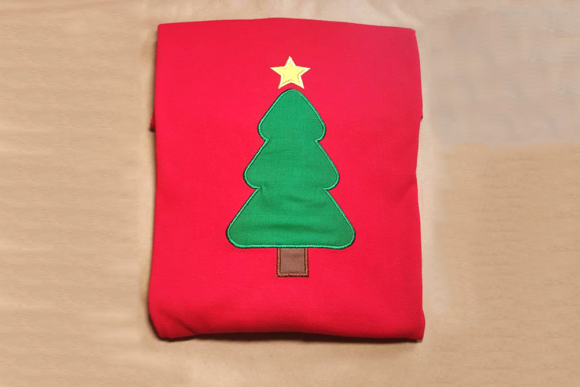 Download Free Christmas Tree Applique Creative Fabrica for Cricut Explore, Silhouette and other cutting machines.