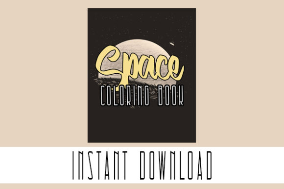 Cool Space Coloring Book Pages Graphic Coloring Pages & Books Kids By elhaniihssane