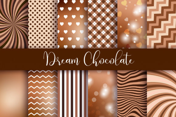 Dream Chocolate Background Graphic Backgrounds By PinkPearly