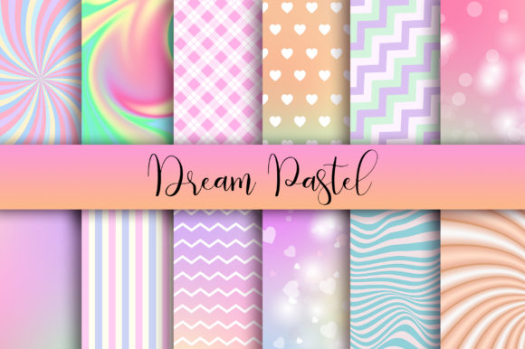 Dream Pastel Background Graphic Backgrounds By PinkPearly