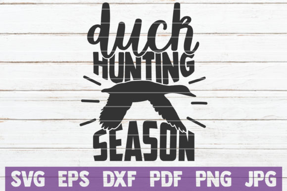 Duck Hunting Season Graphic Graphic Templates By MintyMarshmallows