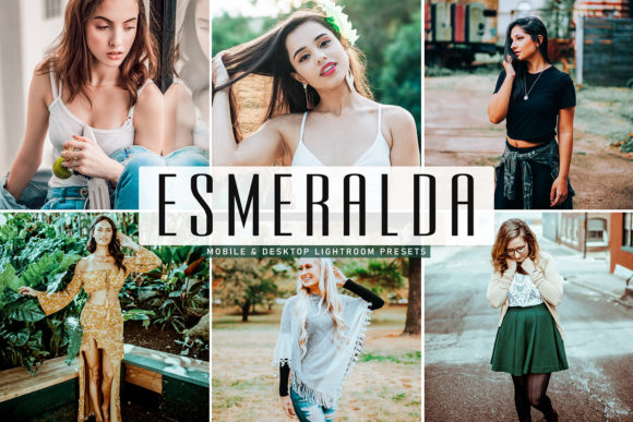 Print on Demand: Esmeralda Lightroom Presets Pack Graphic Actions & Presets By Creative Tacos