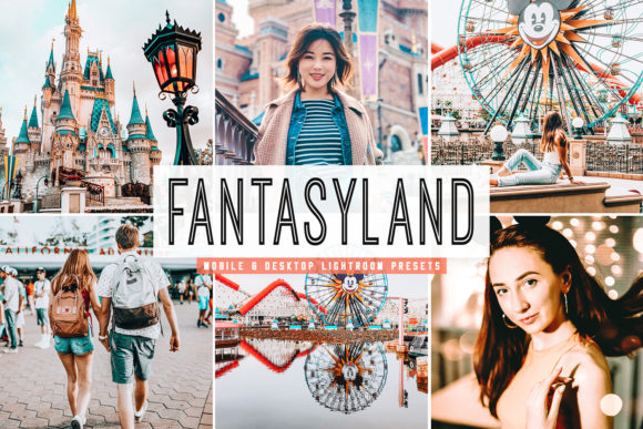 Print on Demand: Fantasyland Lightroom Presets Pack Graphic Actions & Presets By Creative Tacos