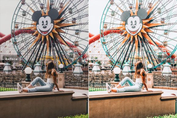 Print on Demand: Fantasyland Lightroom Presets Pack Graphic Actions & Presets By Creative Tacos - Image 4