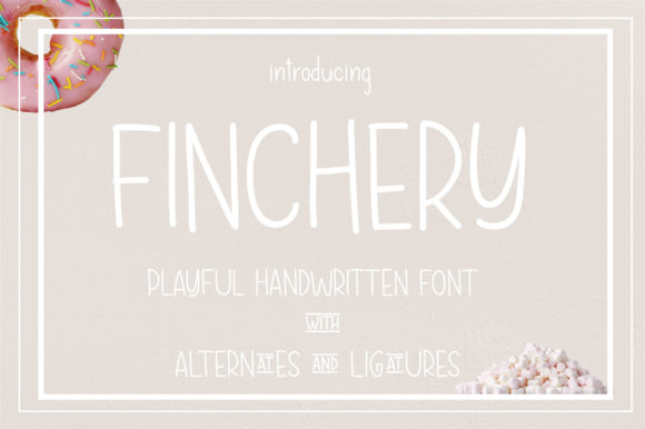 Print on Demand: Finchery Script & Handwritten Font By sunday nomad