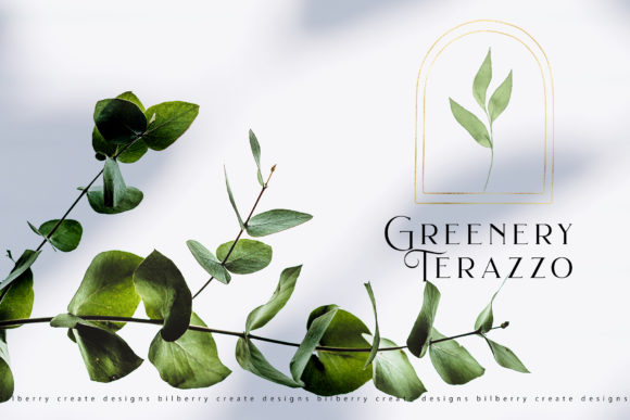 Greenery Terazzo Graphic Illustrations By BilberryCreate - Image 4