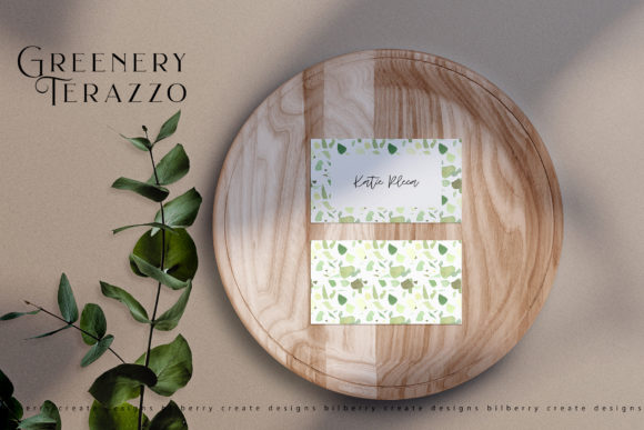 Greenery Terazzo Graphic Illustrations By BilberryCreate - Image 7