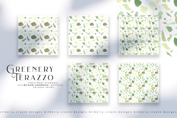 Greenery Terazzo Graphic Illustrations By BilberryCreate - Image 8