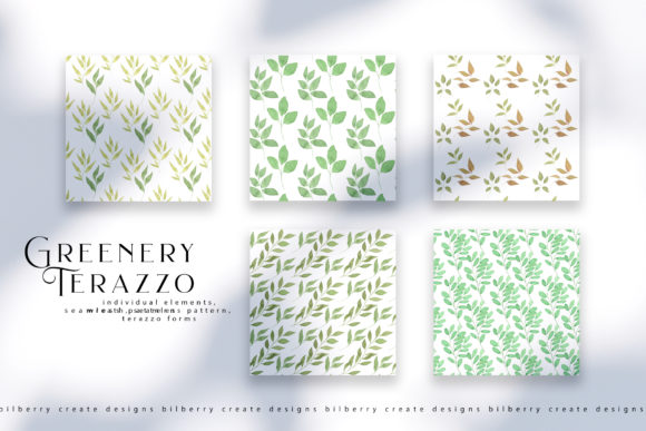 Greenery Terazzo Graphic Illustrations By BilberryCreate - Image 9