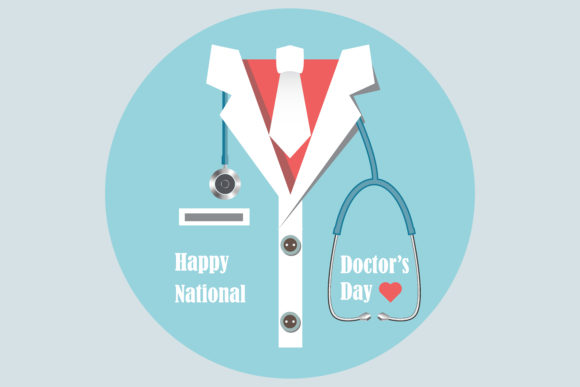 Happy International Doctor Day Graphic Illustrations By sholicha