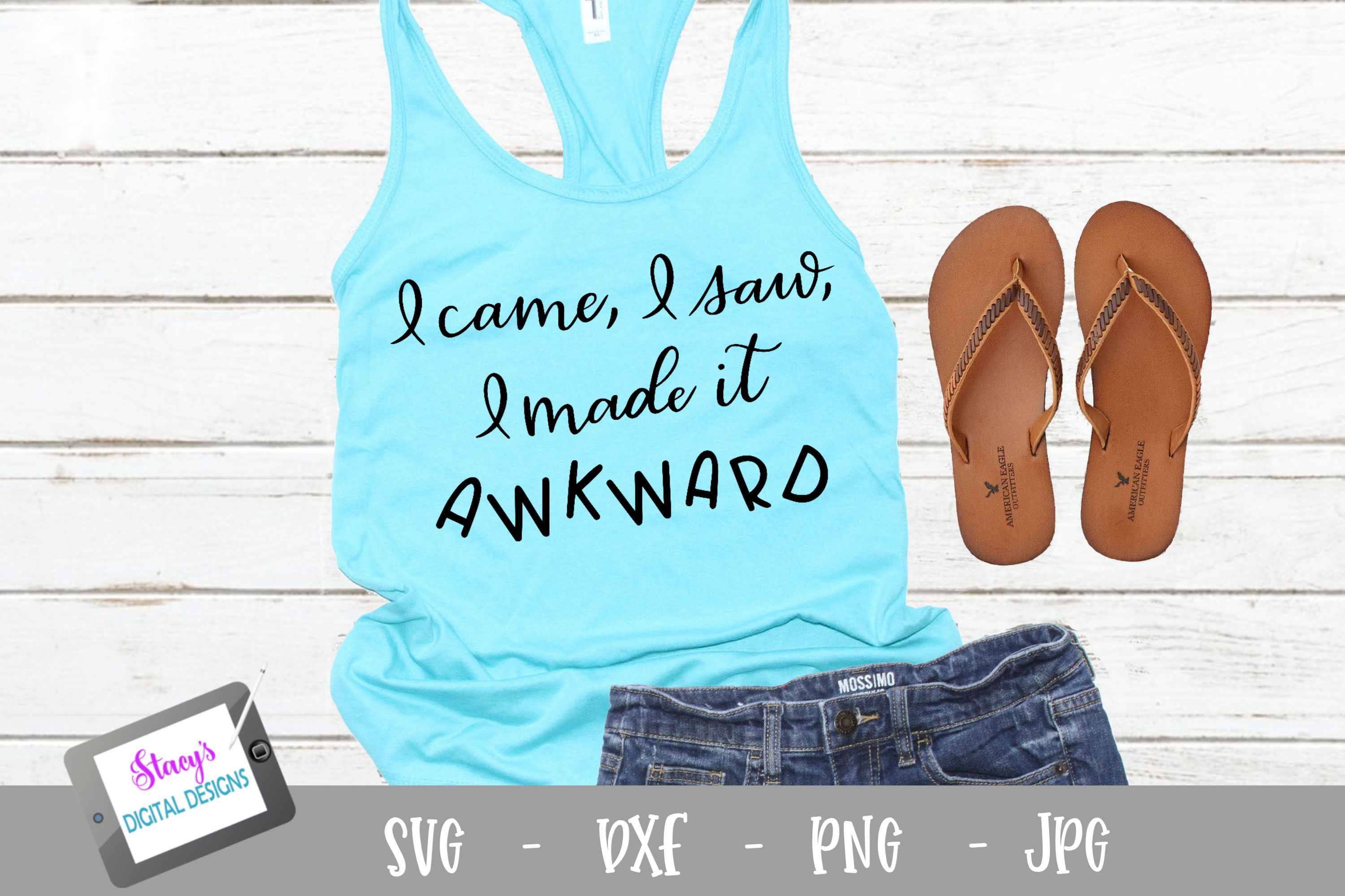 Download Free I Came I Saw I Made It Awkward Svg 1 Graphic By for Cricut Explore, Silhouette and other cutting machines.