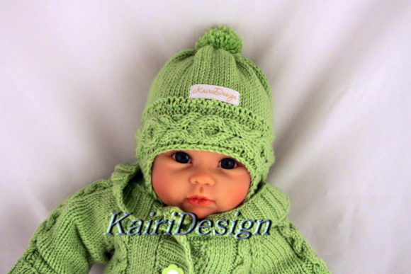 Knitting Patterns Baby Hat Graphic Knitting Patterns By Kairi Mölder - Image 1