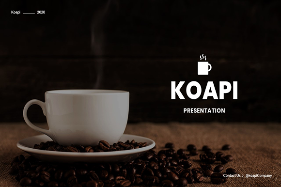 Koapi – Business PowerPoint Template Graphic Presentation Templates By tutukof