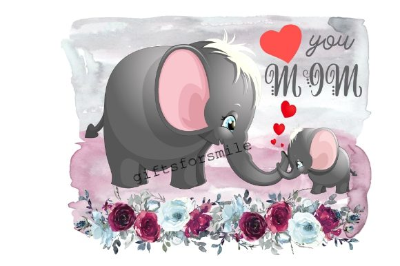 Love You Mom, Mothers Day Graphic Illustrations By aarcee0027