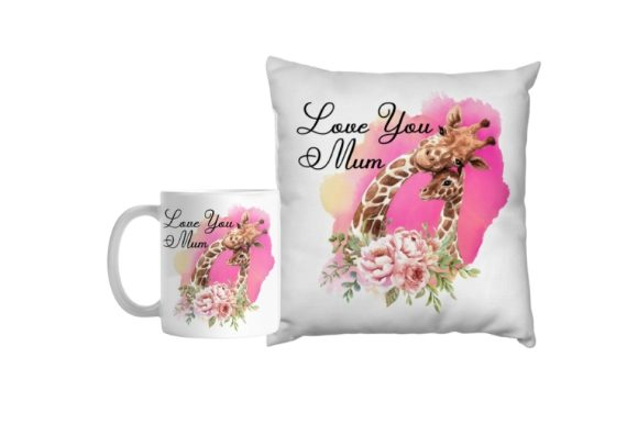Love You Mum, Mothers Day Graphic Illustrations By aarcee0027
